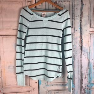 Victoria's Secret Ribbed Long Sleeve Top Size S